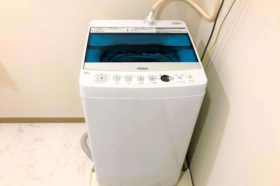 気になる騒音や衛生面も室内洗濯機で解決!