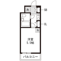 【ロング割】アットイン町田6-2間取図