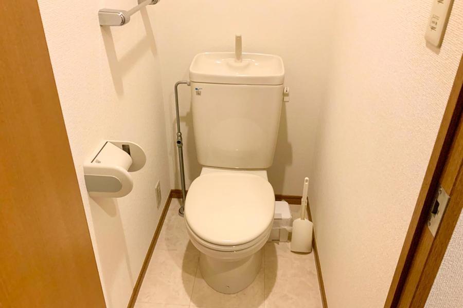 衛生面が気になるお手洗いもセパレート式で安心