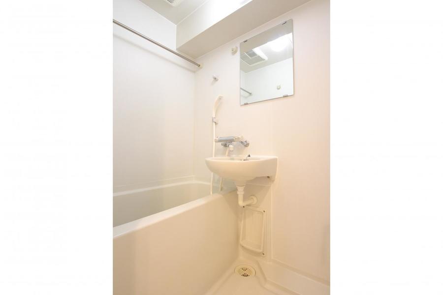 便利な浴室乾燥機能つき。雨や花粉も気にせずお洗濯OK!