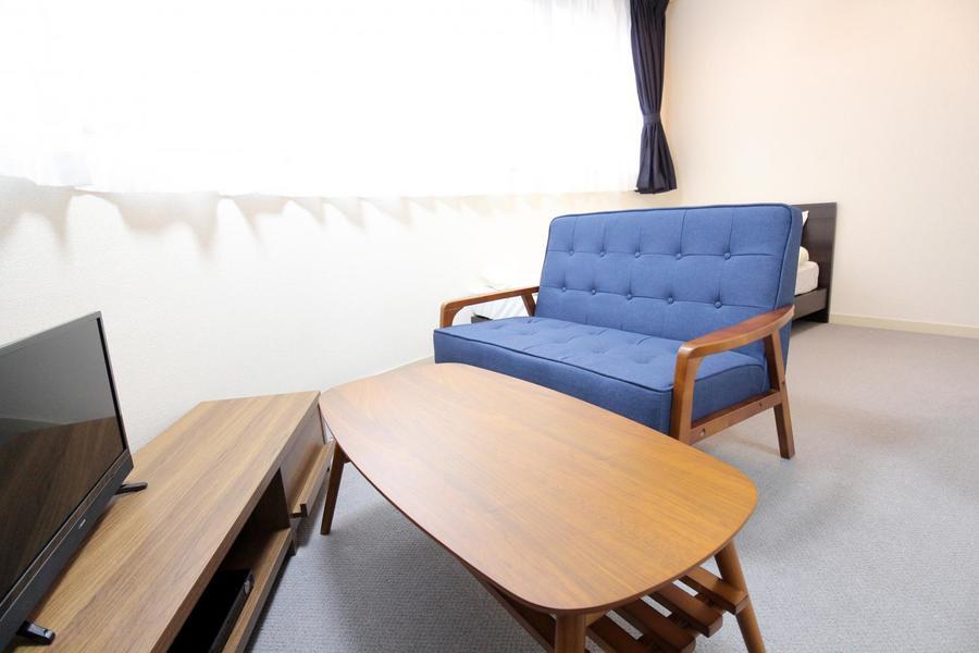 インテリアや家具にもこだわりホテルのような空間に