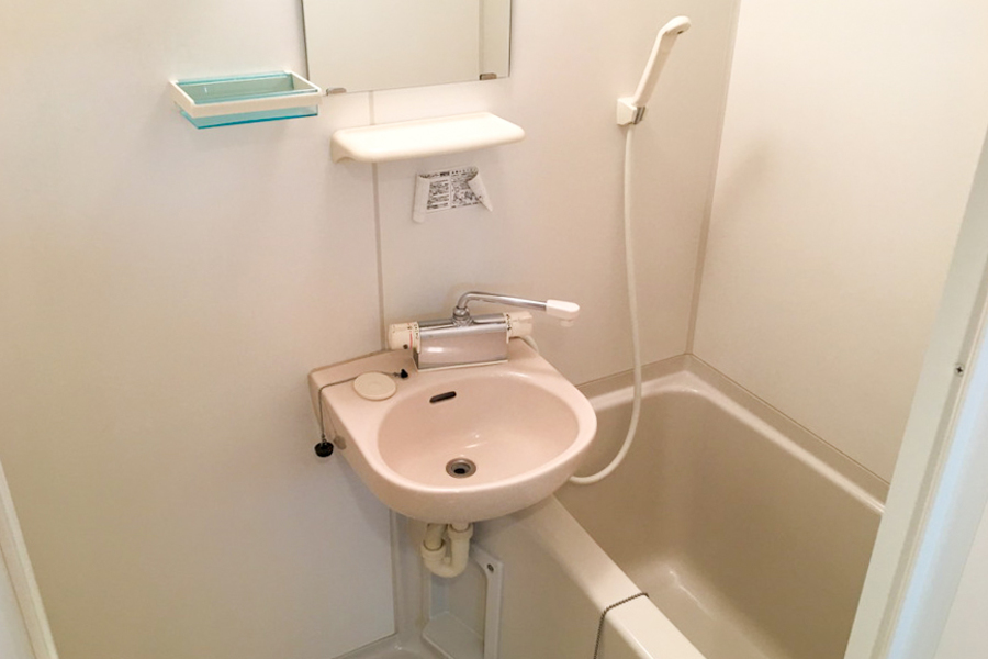 浴室は乾燥機能付き。天気を気にすることなくお洗濯ができます