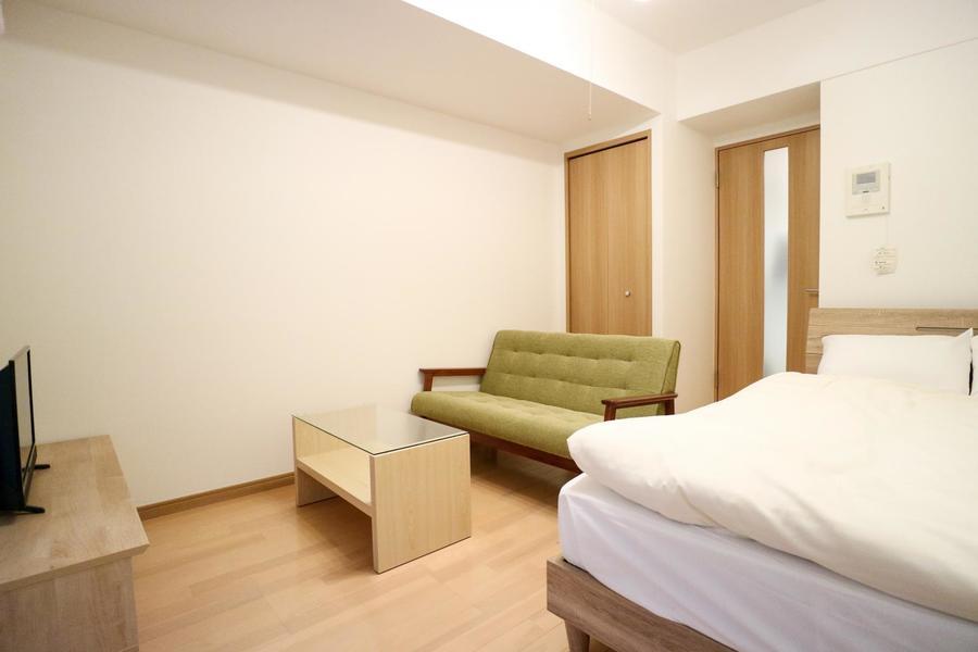 ナチュラルカラーをベースとしたお部屋は温かみを感じられます