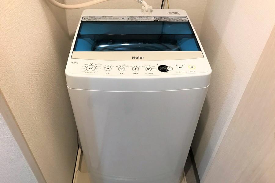 洗濯機は衛生面・防犯面ともに安心の室内置きタイプ