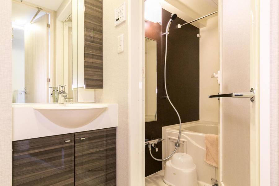 浴室には乾燥機能を搭載。雨や花粉を気にせずお洗濯OK!