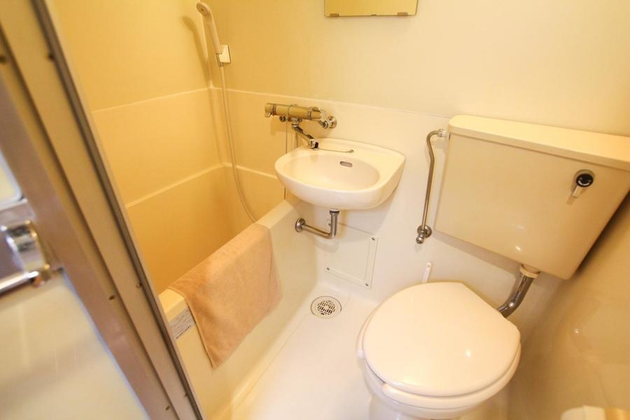 お手洗いなどの水回りは一箇所にまとめてお掃除も便利!