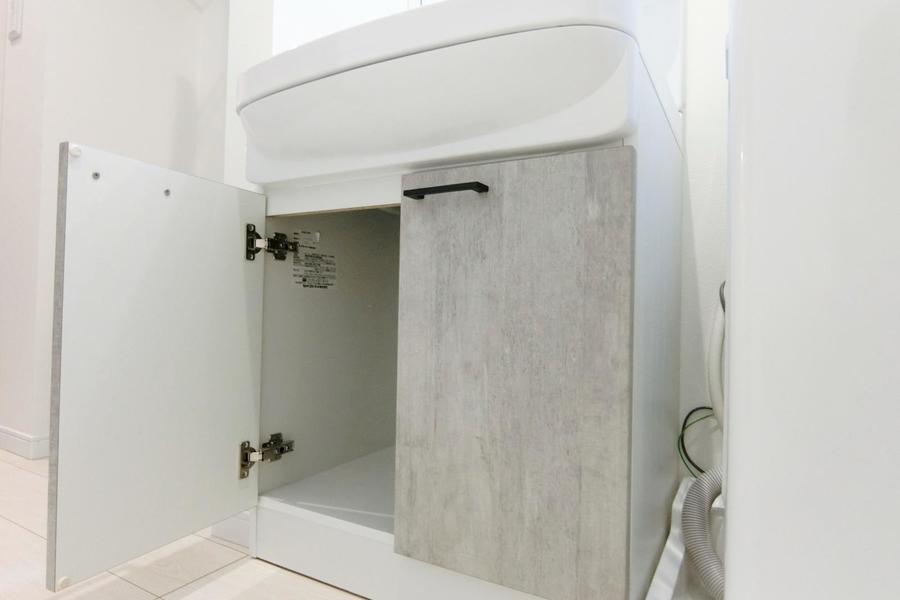 洗面台の収納スペース