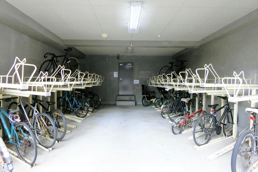 駐輪場もあります!