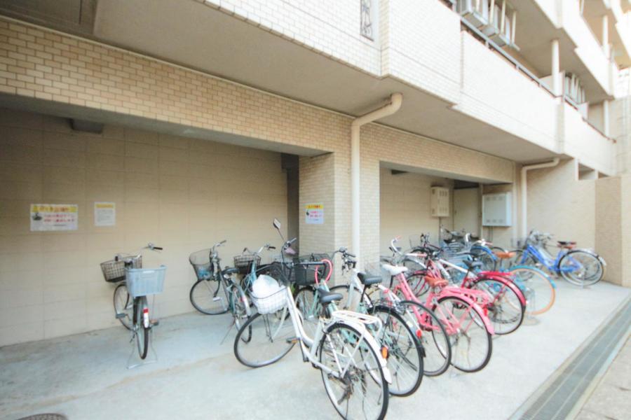 駐輪場スペースもなります!