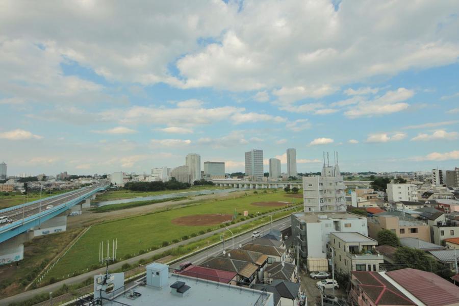 9階の角部屋からの眺めは最高!