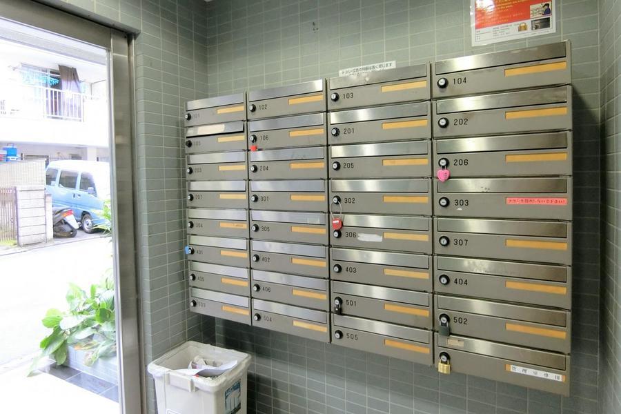 コンパクトなメールボックス。