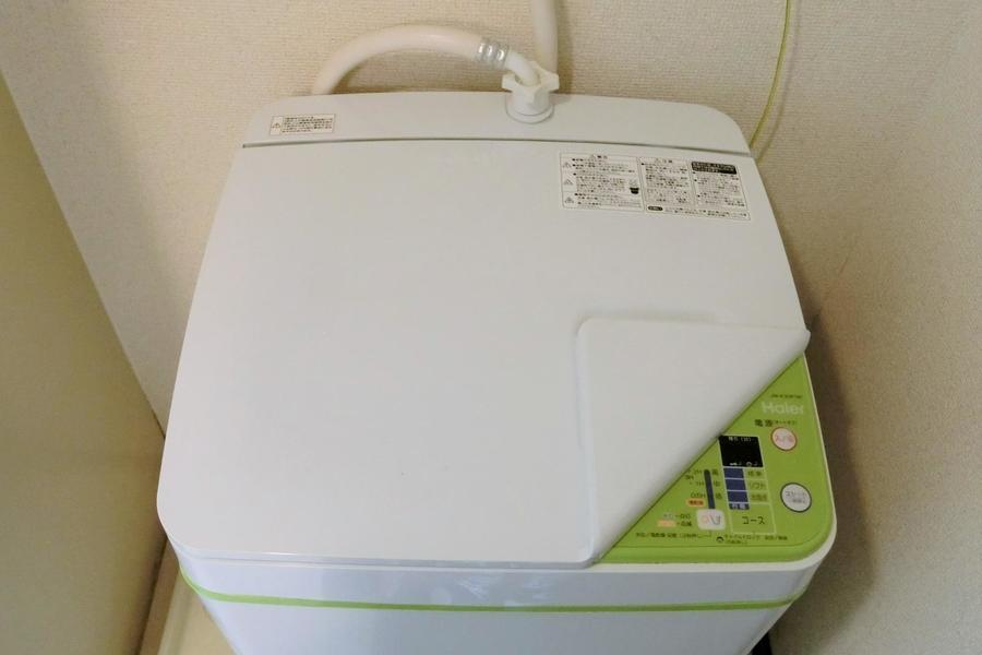 防犯や衛生面で気になる洗濯機は室内置きで嬉しいですよね☆