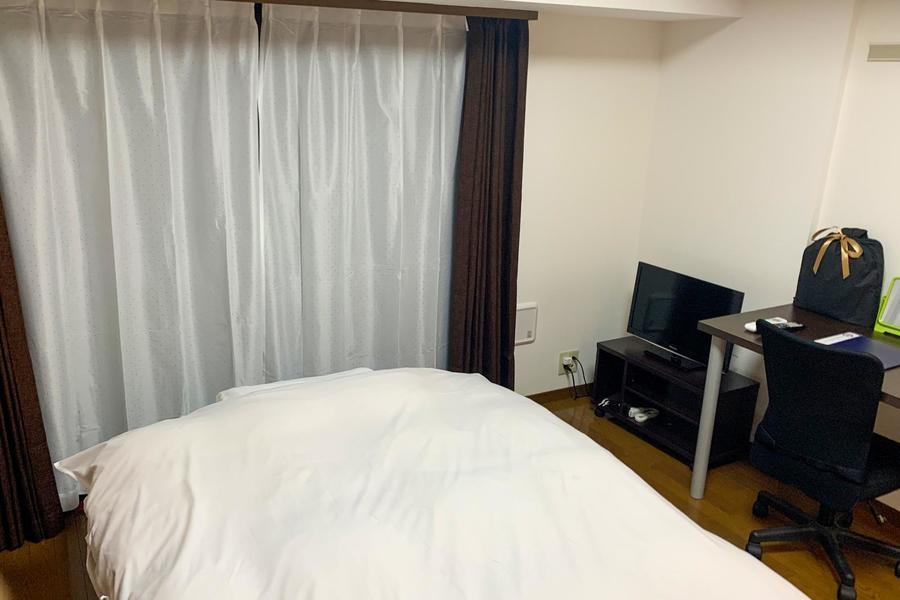 寝室とダイニングが分かれた1DKタイプのお部屋