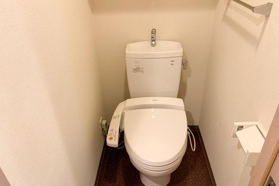 衛生面が不安なお手洗いもセパレートタイプで安心ですね