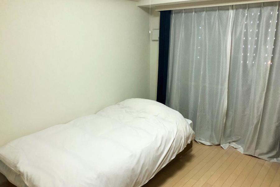 お部屋は7帖。お一人で広々とお使いいただける広さです