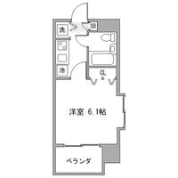 【秋割】アットイン田町2間取図