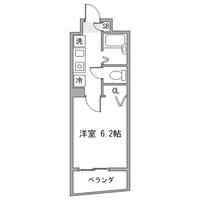 【マッチング・スポットセール】アットイン六本木1間取図