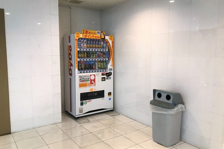 建物内自販機