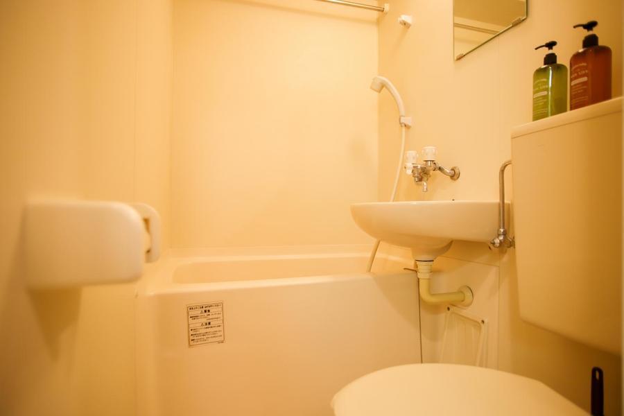 お風呂やトイレなどの水回りはコンパクトに。浴室乾燥機能付きです!