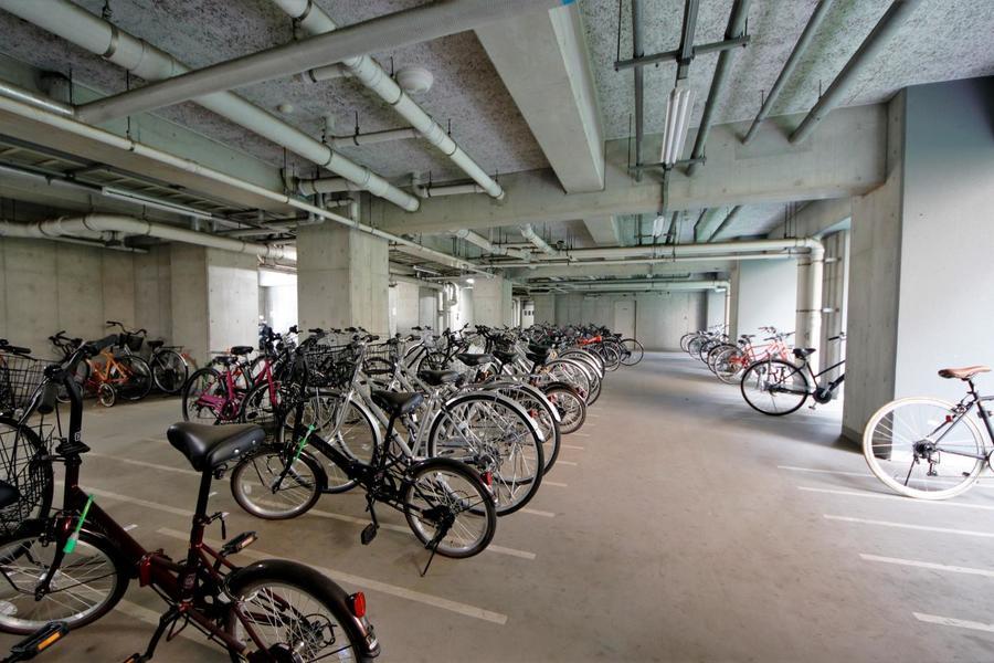 駐輪場もあるので、よく自転車を使う人には嬉しいですよね♪