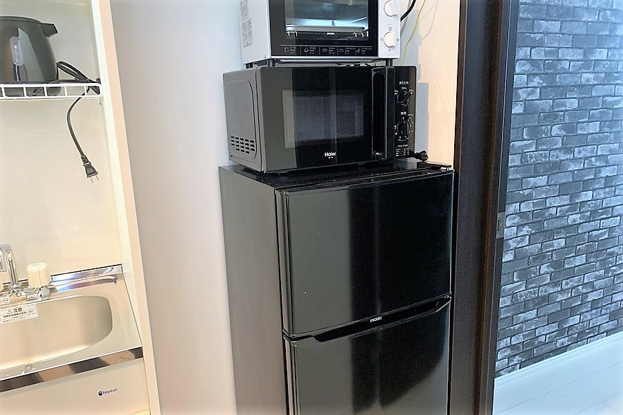 冷蔵庫などのキッチン家電は使いやすい場所に配置