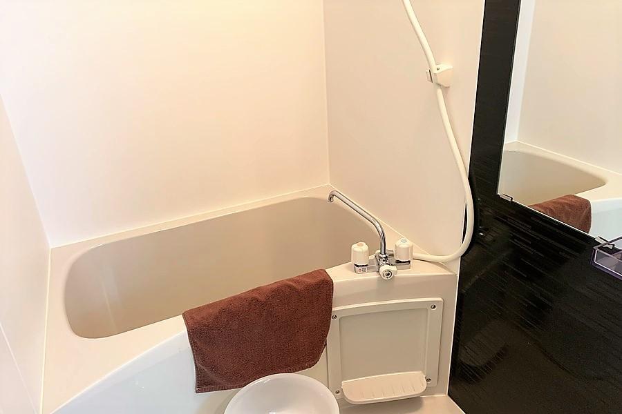 天気を気にせずお洗濯できる浴室乾燥機付きバスルーム