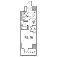 【冬割】アットイン大崎3間取図