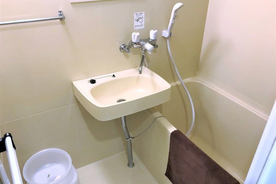 毎日使う浴室にはバスマットをご用意しております