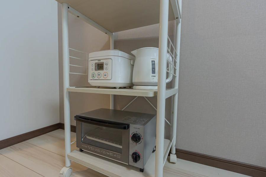 もちろんアットイン標準のトースターや炊飯器もございます。