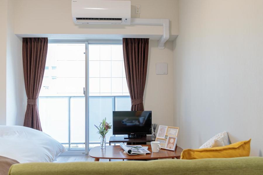 ホテルとは違った温かいお部屋です。