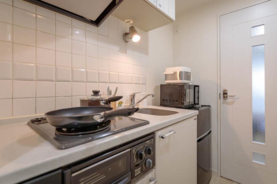 居室とキッチンもしっかり別れているので、使い勝手がいいです。
