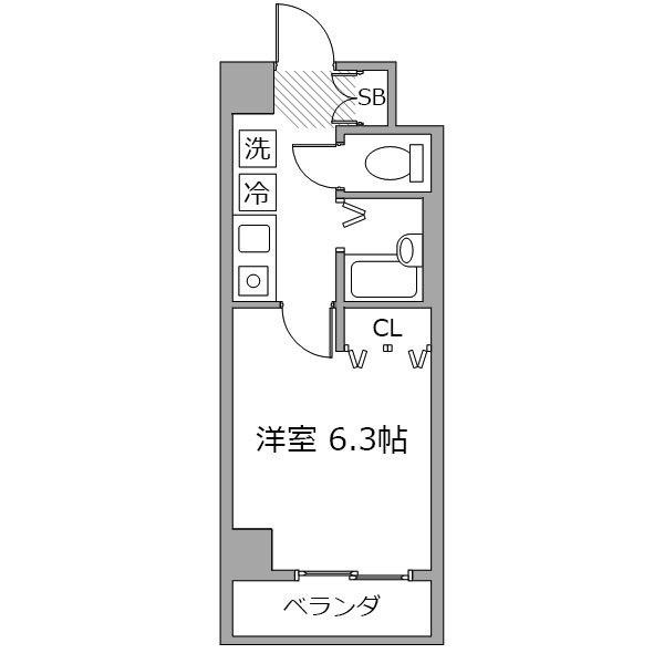 ■アットイン横浜21の間取り