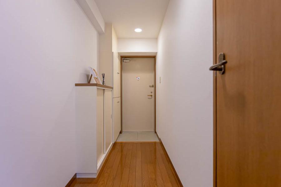 シンプルな廊下です。