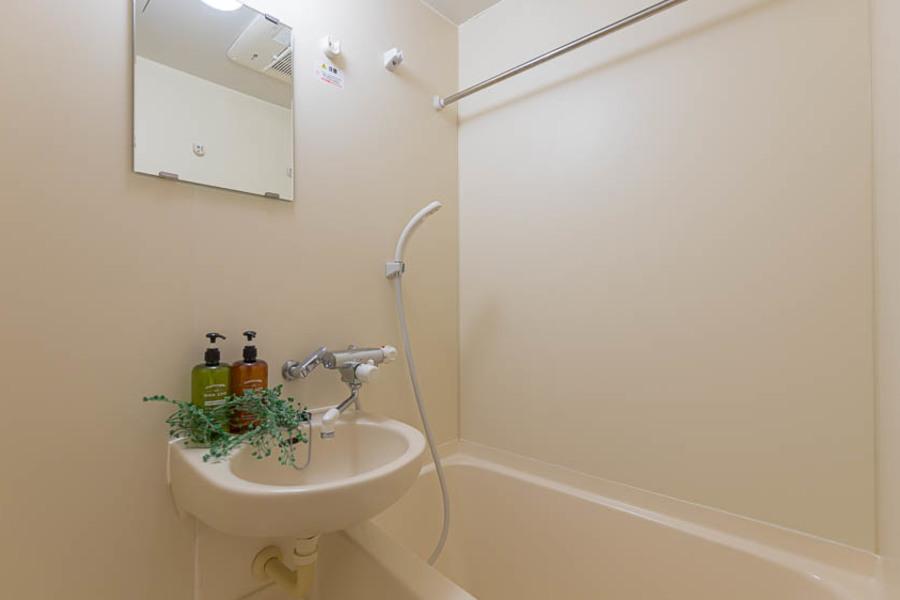浴室も広く、浴室乾燥機付きとなります。