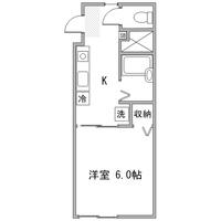【ロング割】アットイン本厚木5-2間取図
