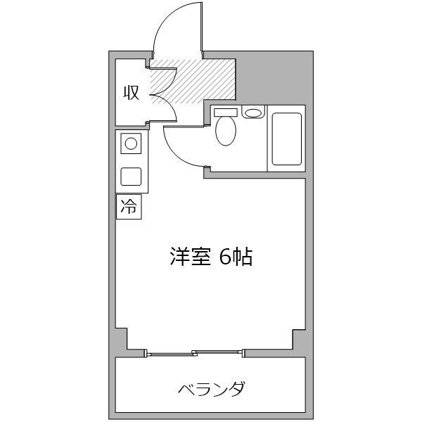 ■アットイン西東京1の間取り