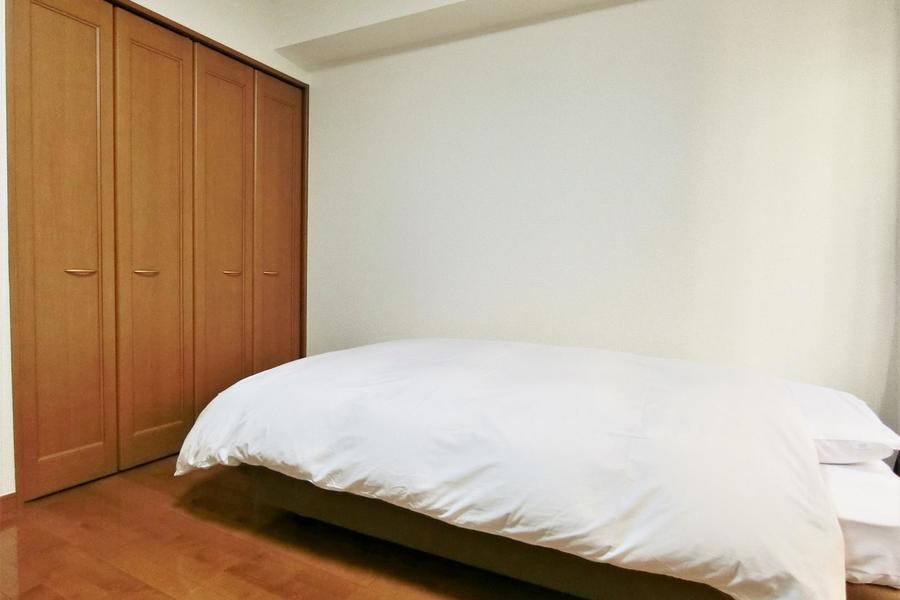シンプルな構成のお部屋です。