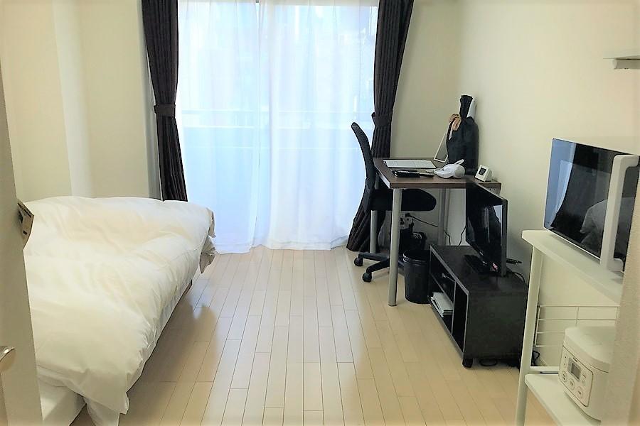 家具家電を置いてもゆとりあるひとり暮らしにはちょうどよい広さ