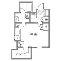 ●アットイン浜松町4-1間取図