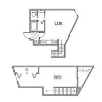 ●アットイン東新宿5間取図