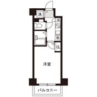 【ミドル割】アットイン新横浜3間取図