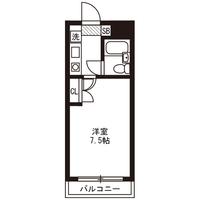 【ロング割】アットイン明大前3間取図