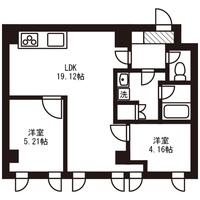 【ロング割】アットイン町田6-4間取図