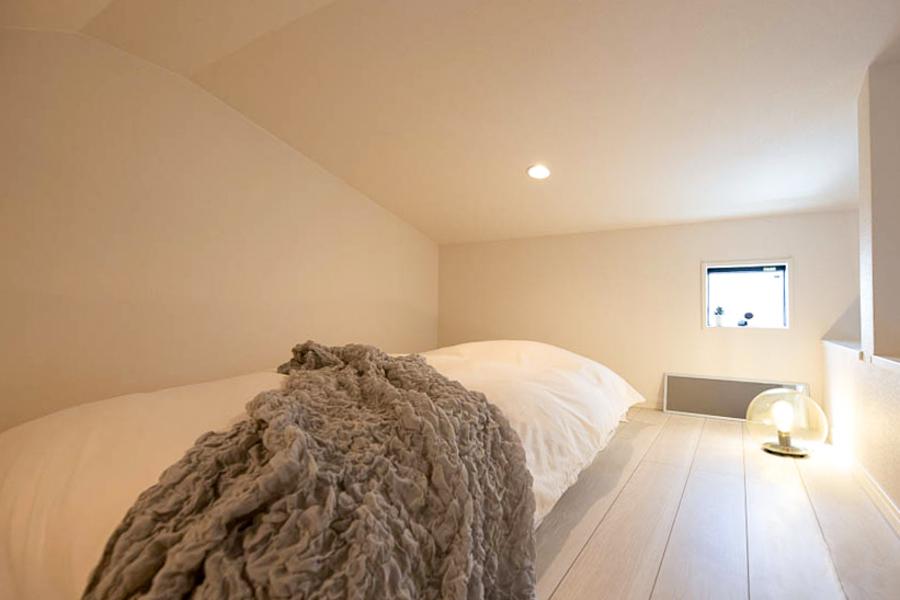 【Aタイプ】広めのロフト空間が寝室です☆
