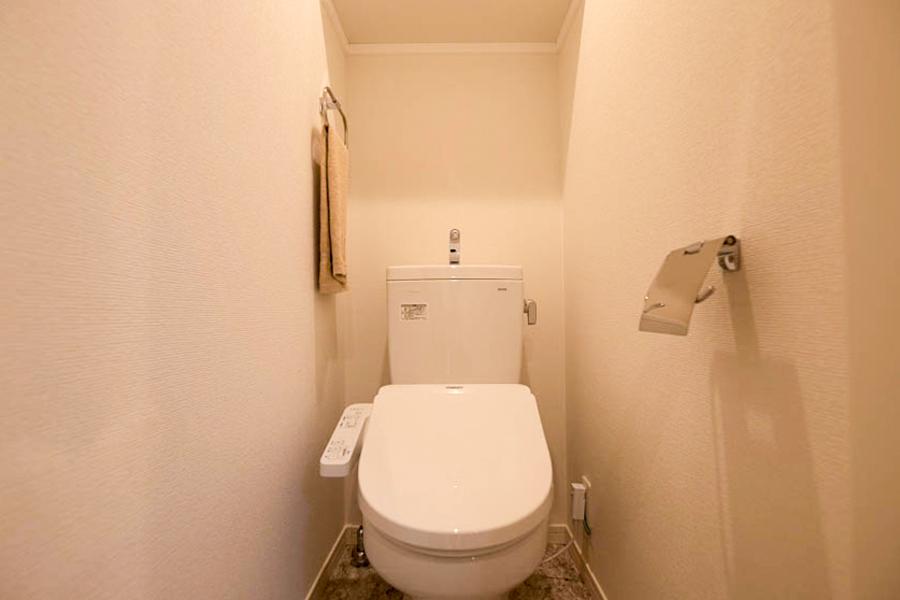 【Aタイプ】嬉しいウォシュレット付きトイレ