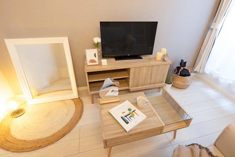 【Aタイプ】流行りの韓国風家具をコンセプトに2種類のお部屋展開です♡