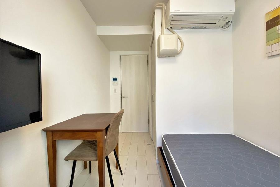 白を基調としたシンプルなお部屋です