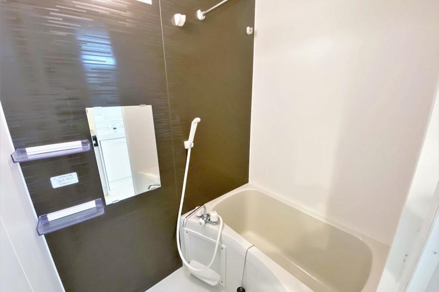 お風呂も広々としており、とてもおすすめの物件です!