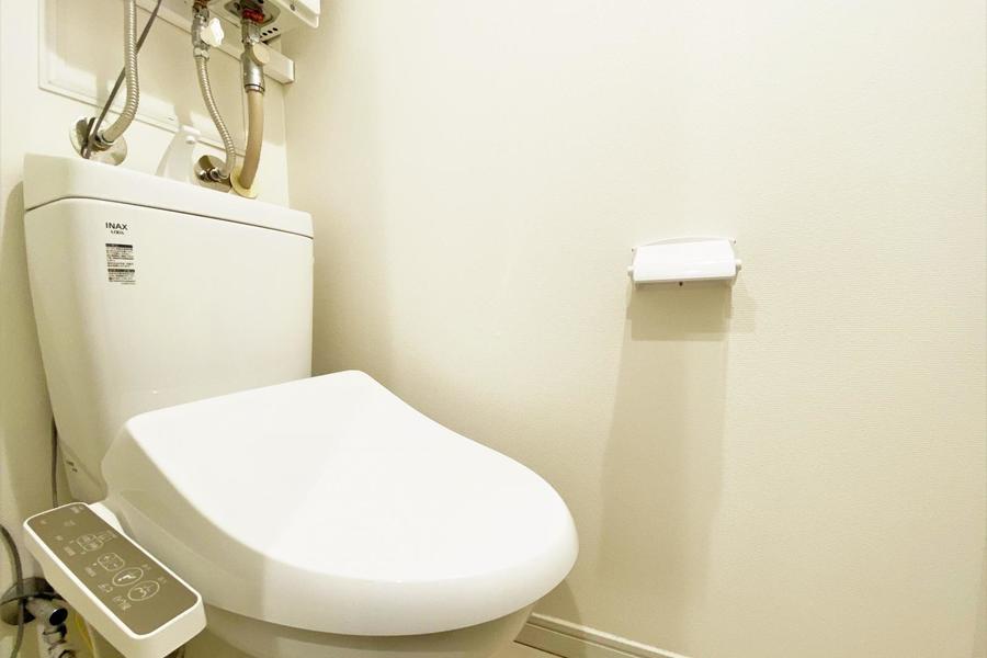 トイレは温水洗浄機付きとなります!