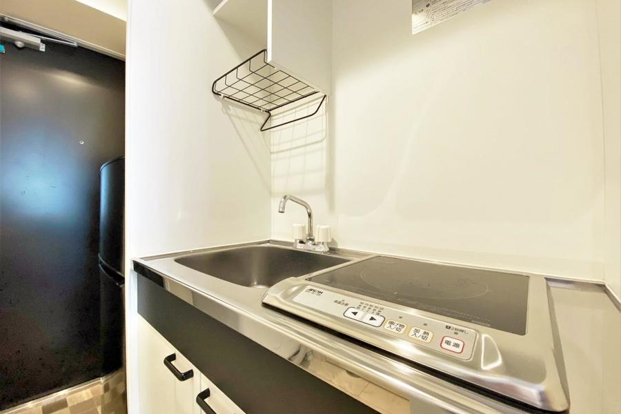 キッチンはIHの一口となります。